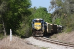 CSX 5947 east bound at mile post AS 724 east of Hawthorne